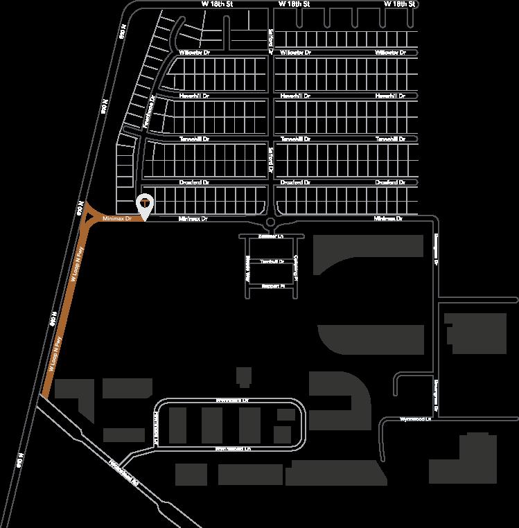 Broadstone Timbergrove Neighborhood Map